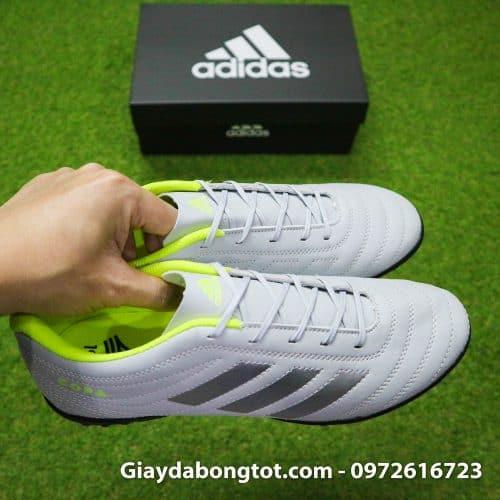 Giay da banh Adidas Copa 19.4 TF xam vach den (9)