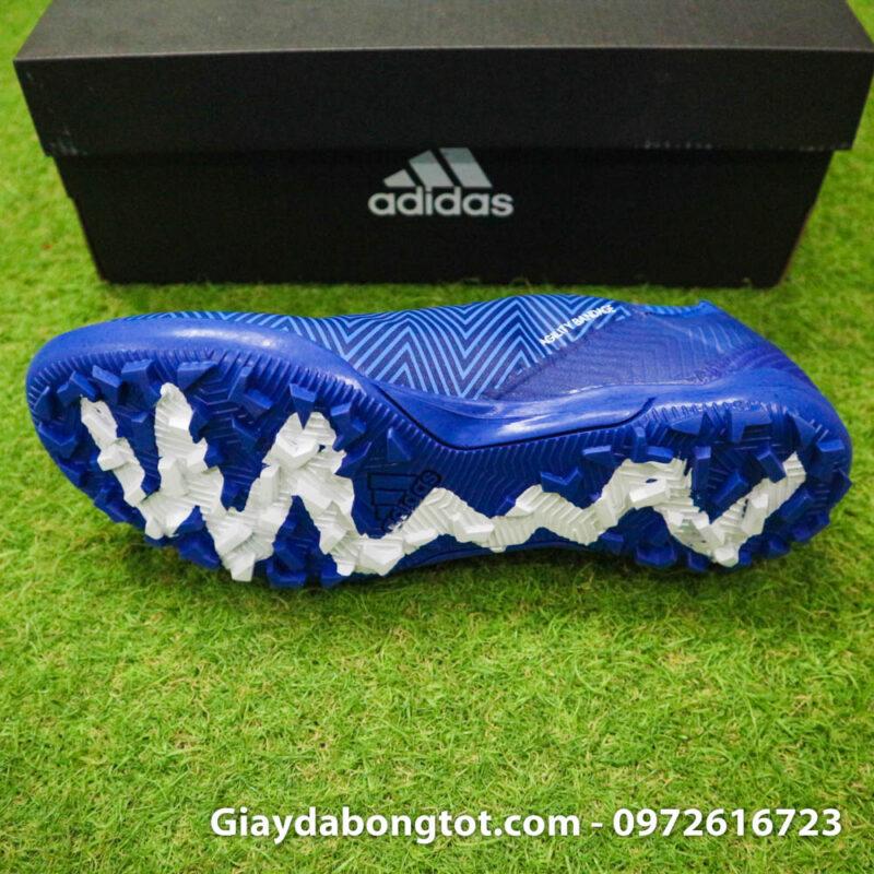 Giay da banh Adidas Nemeziz 18.3 TF xanh duong om chan (4)