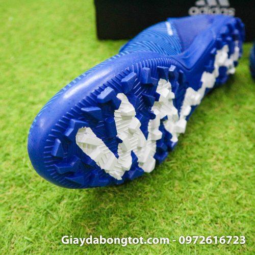Giay da banh Adidas Nemeziz 18.3 TF xanh duong om chan (6)