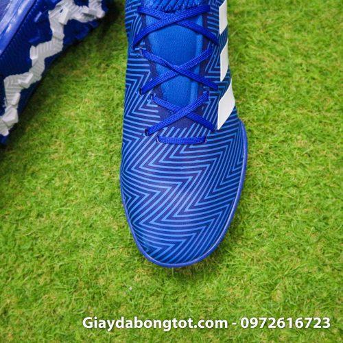 Giay da banh Adidas Nemeziz 18.3 TF xanh duong om chan (7)