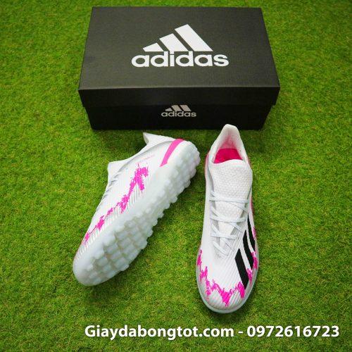Giày sân cỏ nhân tạo Adidas X19.1 TF màu trắng hồng cực kỳ cá tính và nổi bật