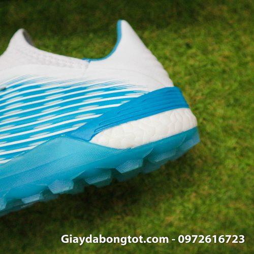 Giay da bong Adidas X19.1 TF xanh nhat co trang Van Hau (9)