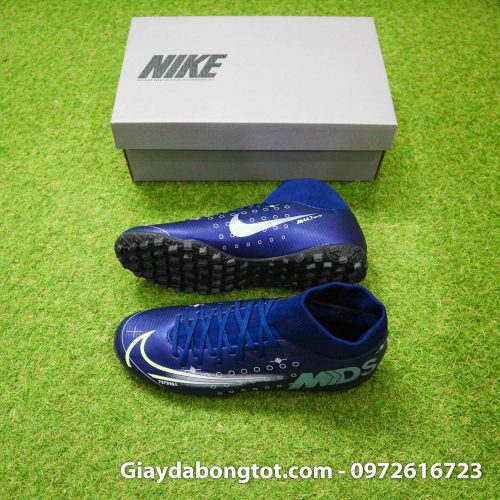 Giay da bong Nike cao co Mercurial Superfly 7 Academy TF Dream Speed tim than (2)