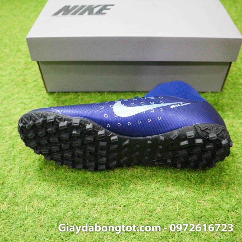 Giay da bong Nike cao co Mercurial Superfly 7 Academy TF Dream Speed tim than (4)