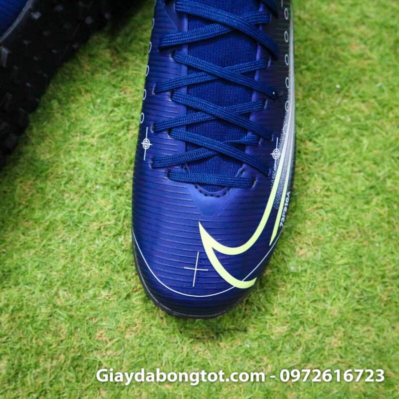 Giay da bong Nike cao co Mercurial Superfly 7 Academy TF Dream Speed tim than (7)