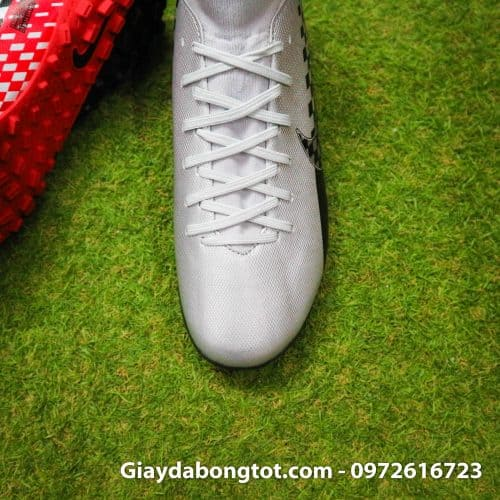 Giay da bong Nike cao co Neymar Mercurial Superfly 7 Academy TF xam do den (7)