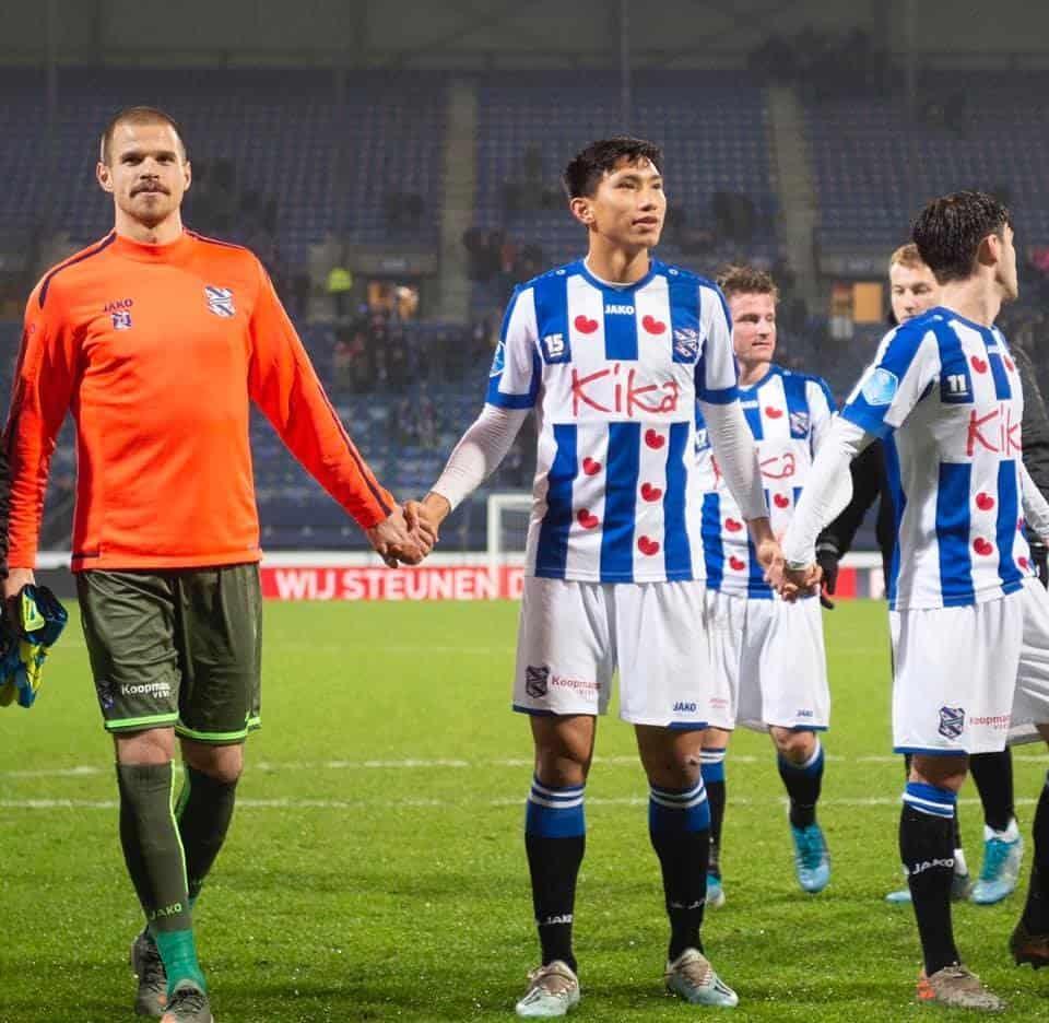 Văn Hậu còn rất trẻ và cơ hội để anh được ra sân trong màu áo Heerenveen là rất nhiều
