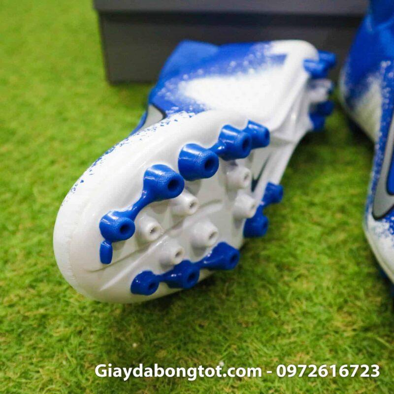 Giay bong da Nike Phantom VSN AG xanh duong trang (5)