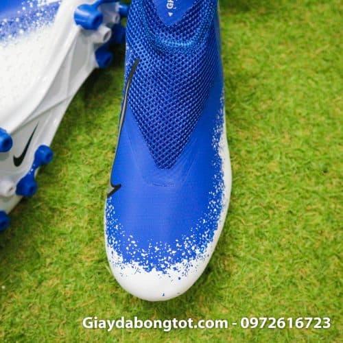 Giay bong da Nike Phantom VSN AG xanh duong trang (6)