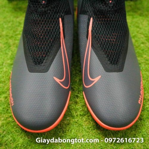 Giay bong da che day Nike Phantom VSN cao co TF den cam (10)