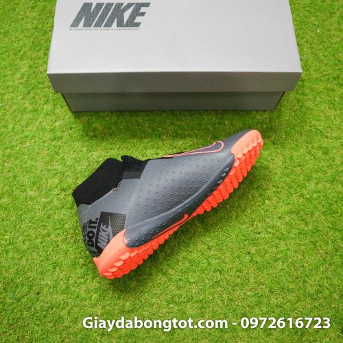 Giay bong da che day Nike Phantom VSN cao co TF den cam (14)