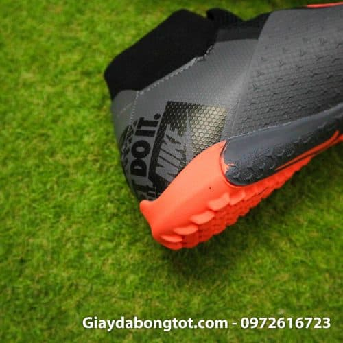 Giay bong da che day Nike Phantom VSN cao co TF den cam (16)