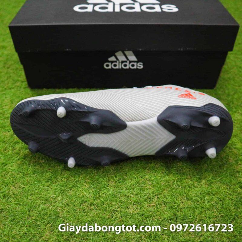 Giay da banh Adidas Nemeziz 19.3 FG xam vach do cao co (4)