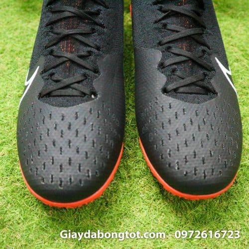 Giay da bong Nike co cao Mercurial Superfly 7 da vai den cam (10)