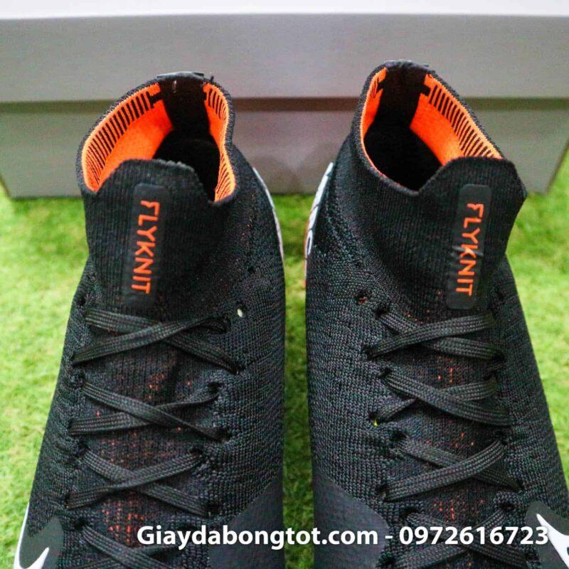 Giay da bong Nike co cao Mercurial Superfly 7 da vai den cam (11)