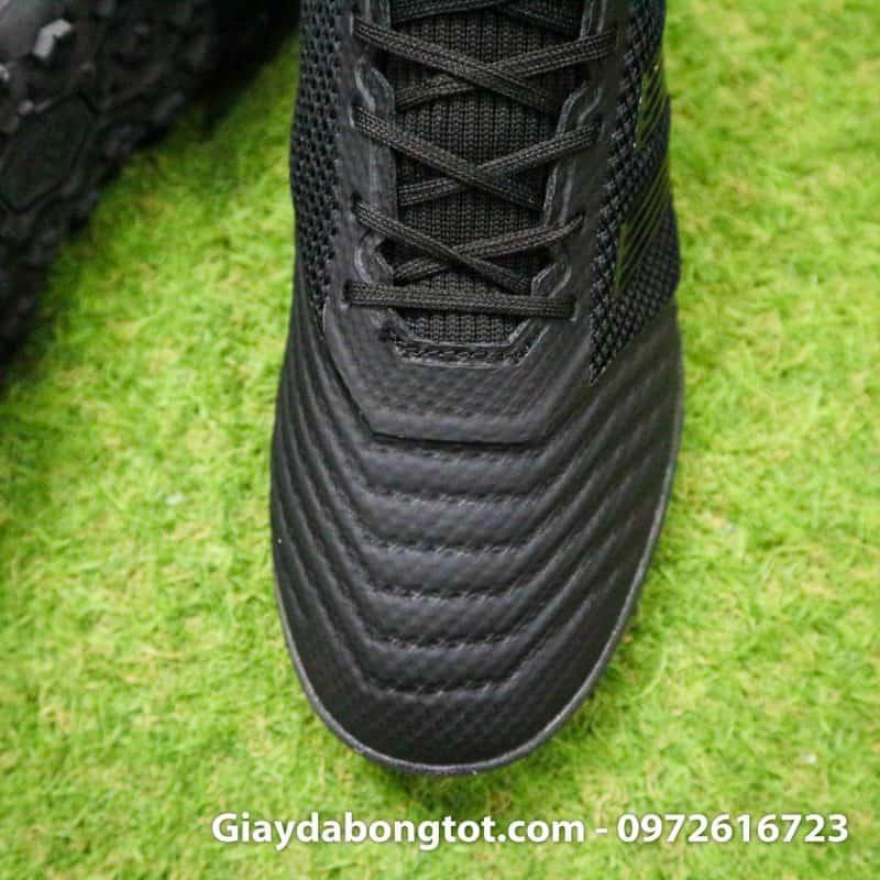 Giay da bong mau den Adidas Predator 19.3 TF em chan tre em (6)