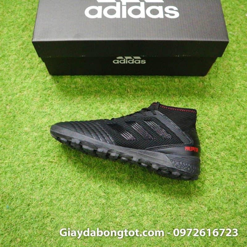 Giày đá bóng trẻ em đế mềm Adidas Predator 19.3 TF màu đen êm chân