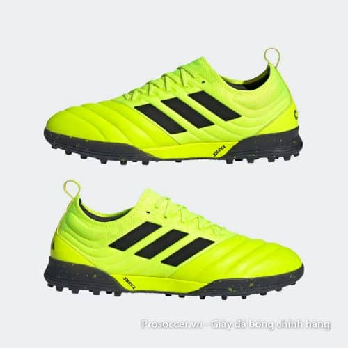 Adidas Copa 19.1 TF xanh non chuoi da that (9)