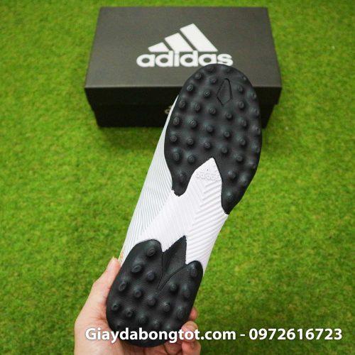 Giay Adidas Nemeziz 19.3 TF trang vach vang co cao (1)