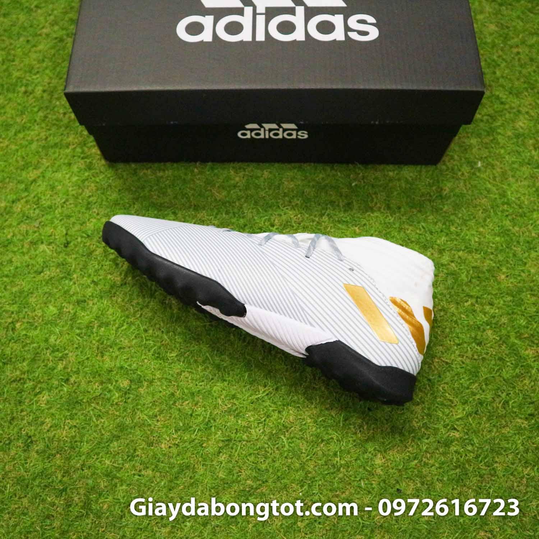 Giay Adidas Nemeziz 19.3 TF trang vach vang co cao (10)