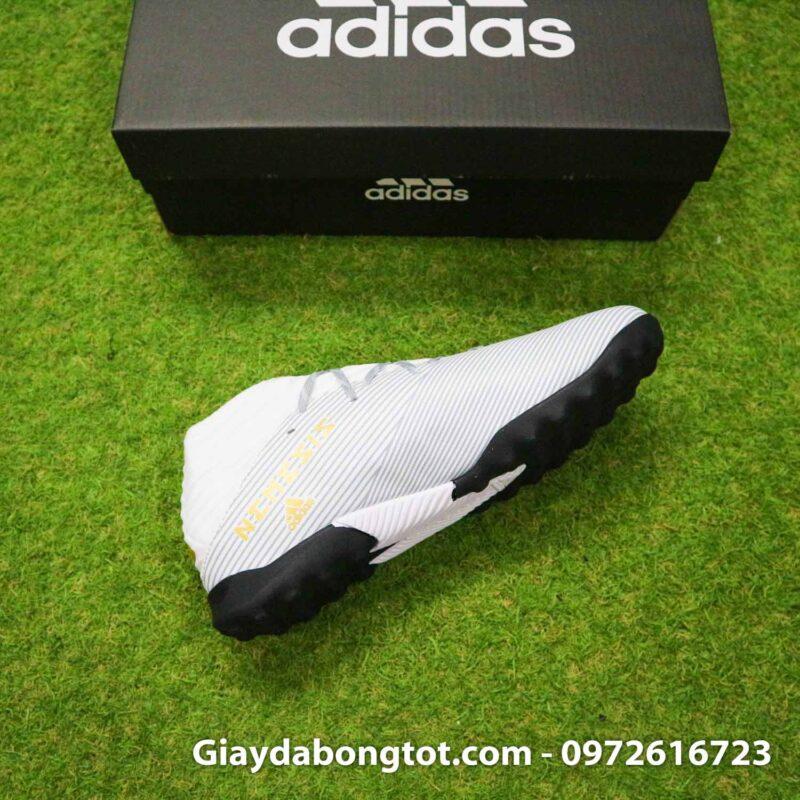 Giay Adidas Nemeziz 19.3 TF trang vach vang co cao (11)