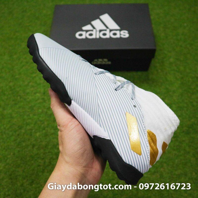 Giay Adidas Nemeziz 19.3 TF trang vach vang co cao (12)