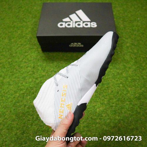 Giay Adidas Nemeziz 19.3 TF trang vach vang co cao (13)