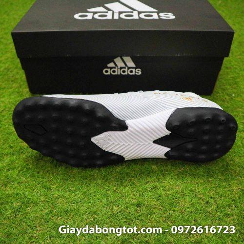 Giay Adidas Nemeziz 19.3 TF trang vach vang co cao (4)