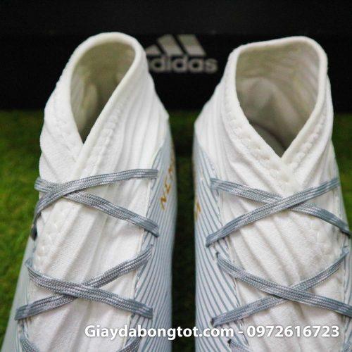 Giay Adidas Nemeziz 19.3 TF trang vach vang co cao (9)