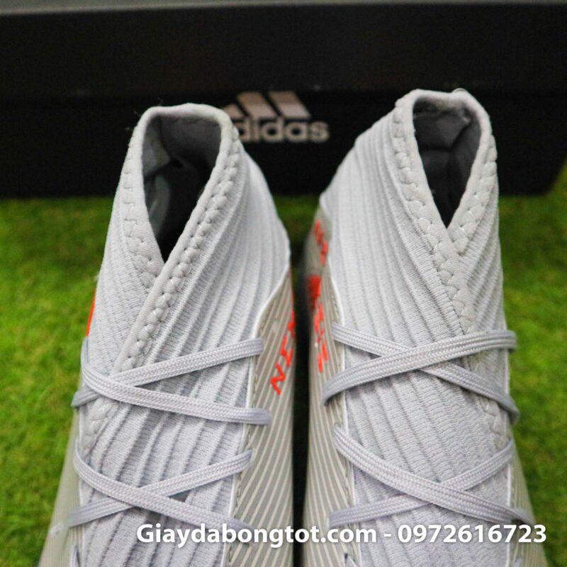 Giay Adidas Nemeziz 19.3 TF xam vach cam co cao (10)