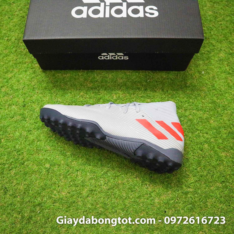 Giay Adidas Nemeziz 19.3 TF xam vach cam co cao (11)