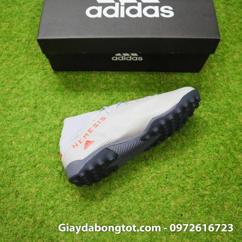 Giay Adidas Nemeziz 19.3 TF xam vach cam co cao (12)