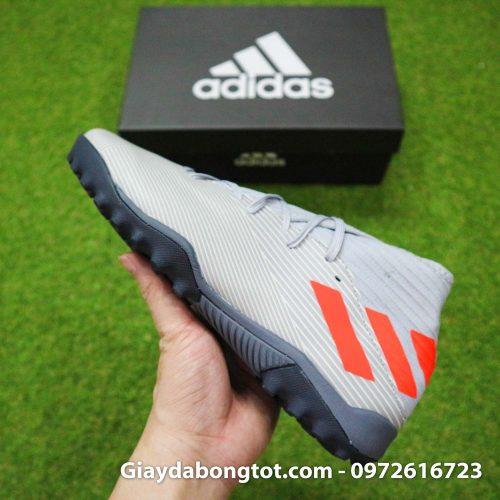Giay Adidas Nemeziz 19.3 TF xam vach cam co cao (13)