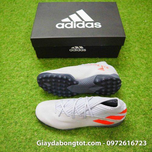 Giay Adidas Nemeziz 19.3 TF xam vach cam co cao (2)