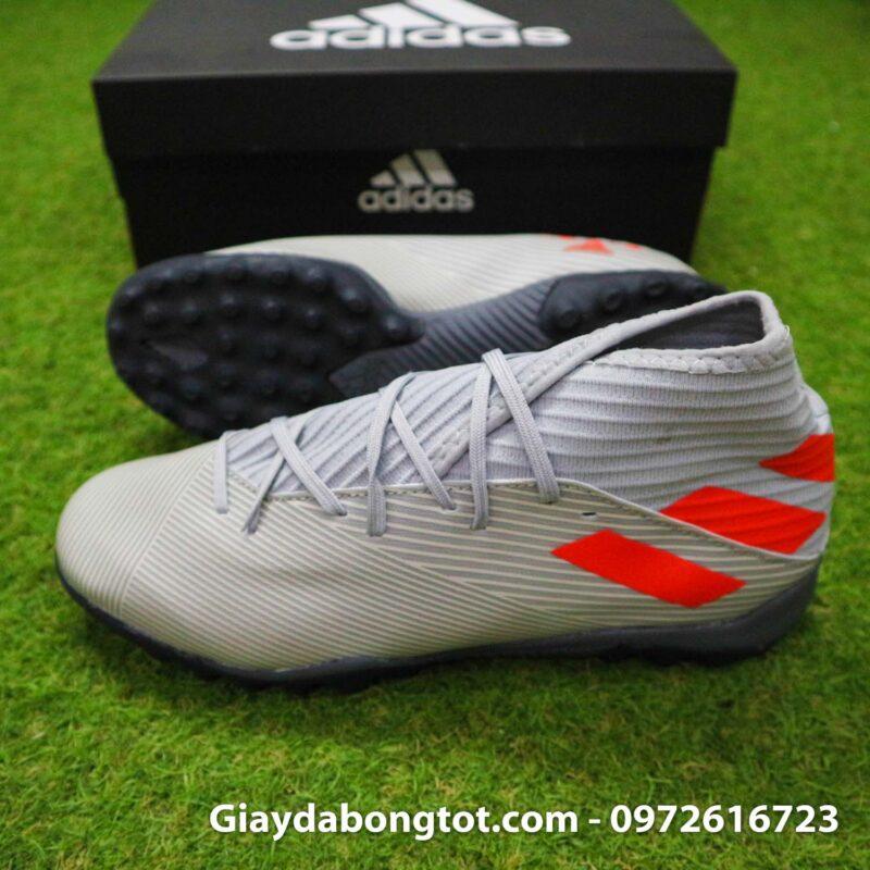Giay Adidas Nemeziz 19.3 TF xam vach cam co cao (3)