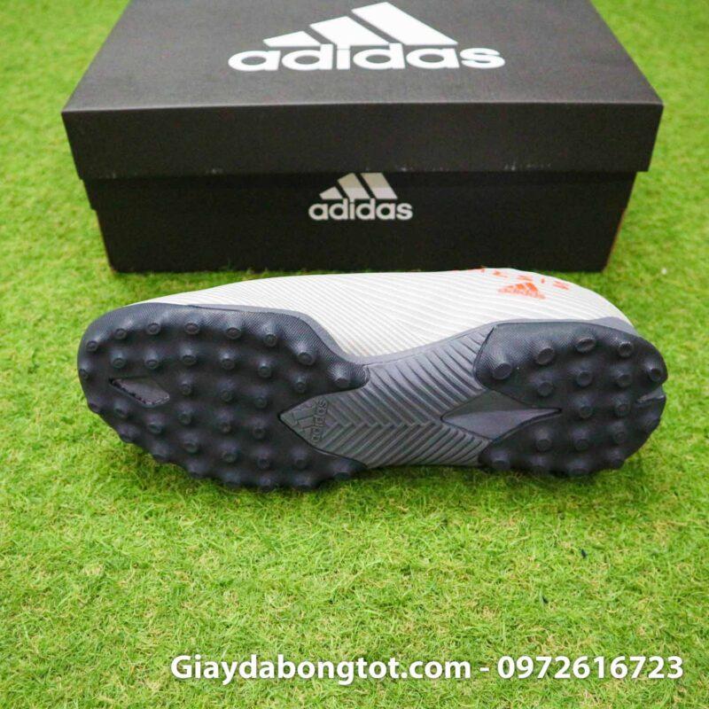 Giay Adidas Nemeziz 19.3 TF xam vach cam co cao (4)