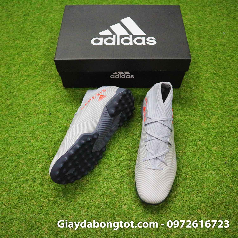 Giay Adidas Nemeziz 19.3 TF xam vach cam co cao (5)