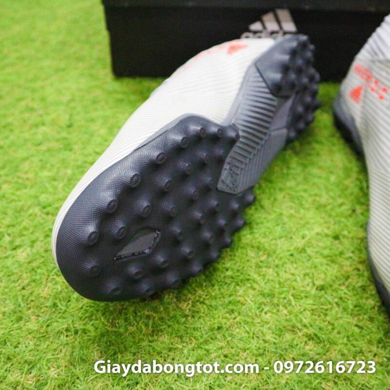Giay Adidas Nemeziz 19.3 TF xam vach cam co cao (6)