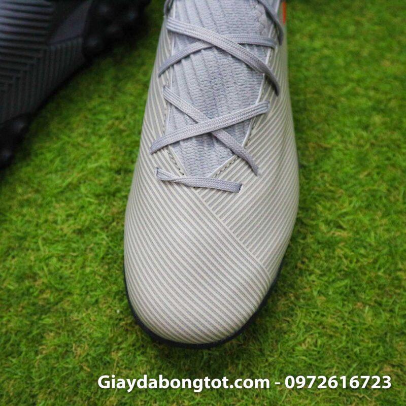 Giay Adidas Nemeziz 19.3 TF xam vach cam co cao (7)