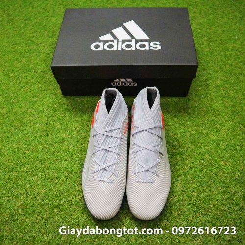 Giay Adidas Nemeziz 19.3 TF xam vach cam co cao (8)