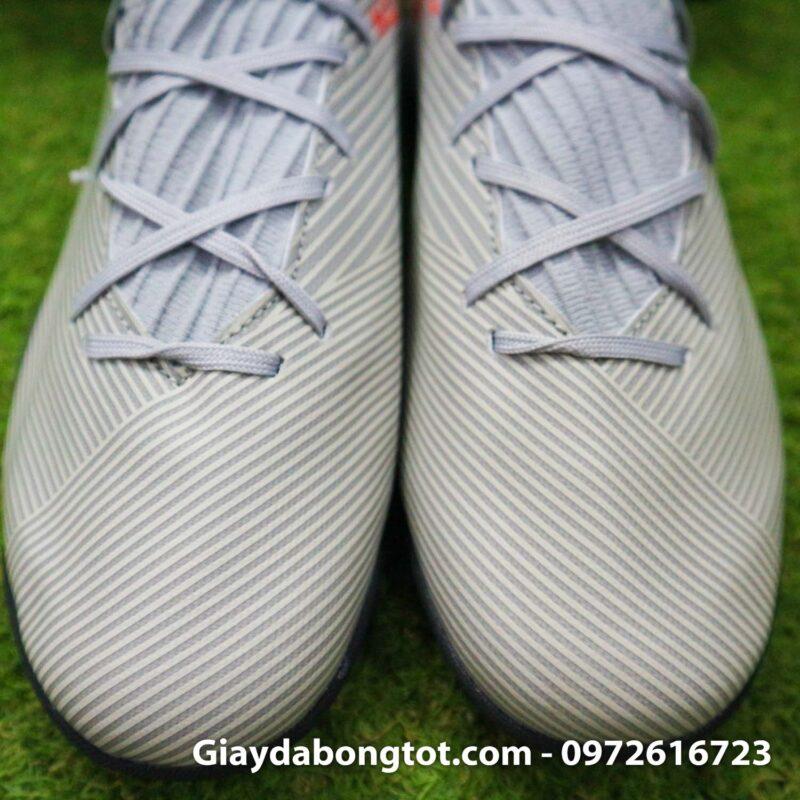 Giay Adidas Nemeziz 19.3 TF xam vach cam co cao (9)