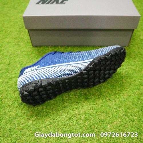 Giay Nike Mercurial Vapor 13 Academy TF xanh tim than (1)
