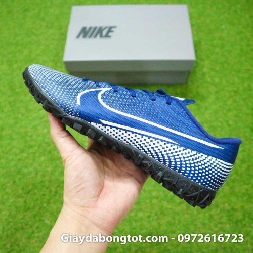 Giay Nike Mercurial Vapor 13 Academy TF xanh tim than (10)