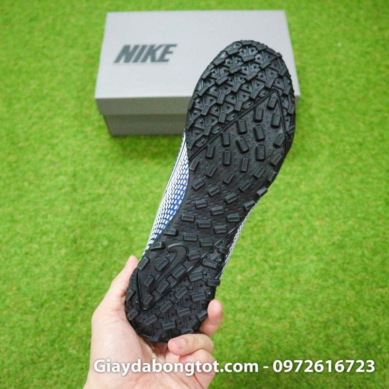 Giay Nike Mercurial Vapor 13 Academy TF xanh tim than (12)