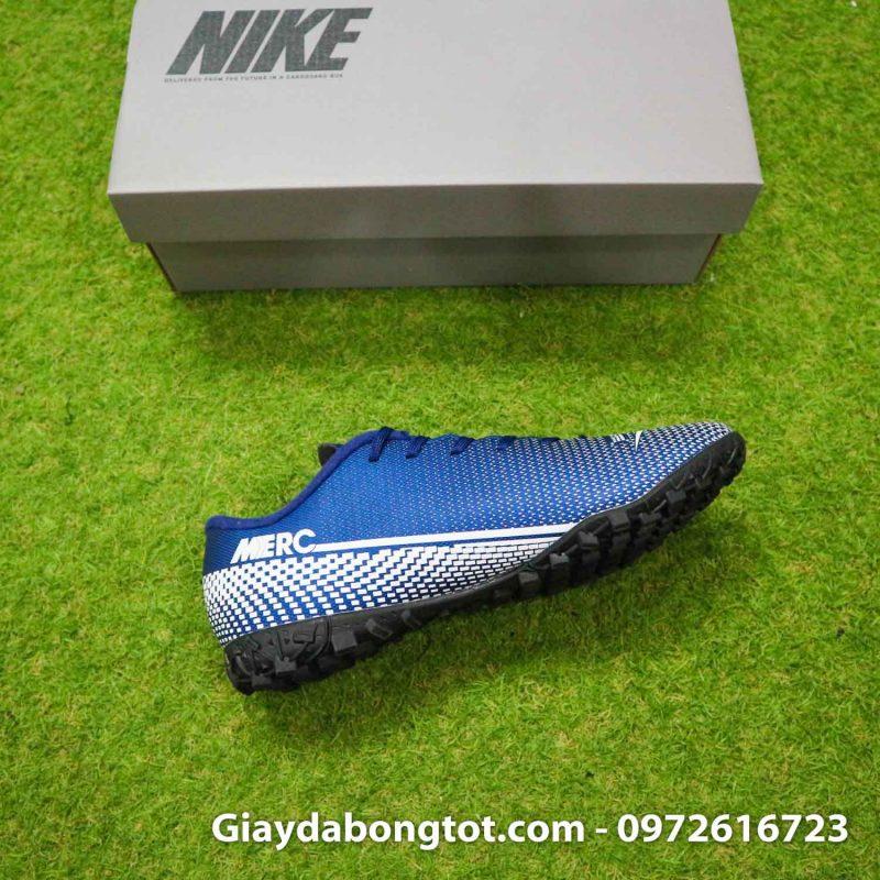 Giay Nike Mercurial Vapor 13 Academy TF xanh tim than (14)