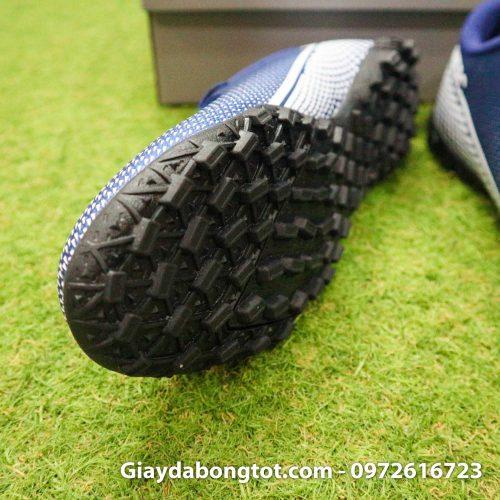 Giay Nike Mercurial Vapor 13 Academy TF xanh tim than (5)