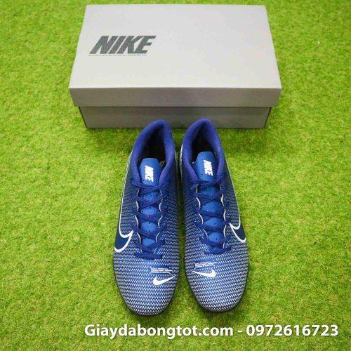 Giay Nike Mercurial Vapor 13 Academy TF xanh tim than (7)