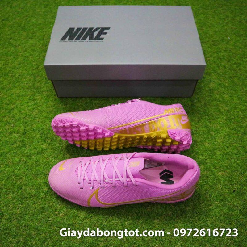Giay Nike Mercurial vapor 13 Academy TF hong (2)