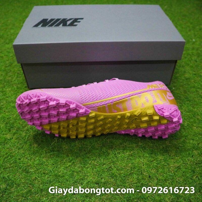 Giay Nike Mercurial vapor 13 Academy TF hong (4)