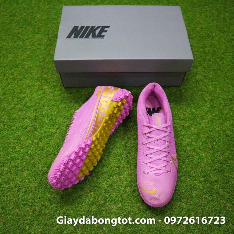 Giay Nike Mercurial vapor 13 Academy TF hong (5)